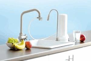 Wasserfilterung Auftisch Carbonit Alvito sanuno kaufen