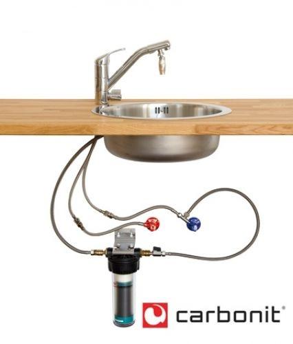 Gut bekannt Carbonit Vario Küche Einbau Wasserfilter 3-Wege-Armatur | Wasserfilter WC22
