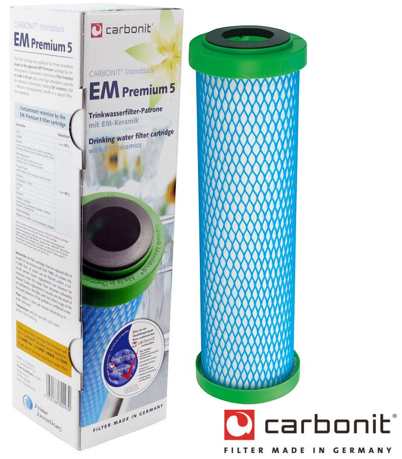 Carbonit Aktivkohle-Filter EM Premium | Wasserfilter